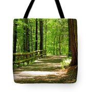 Wooded Path 15 Tote Bag