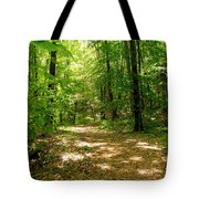 Wooded Path 16 Tote Bag