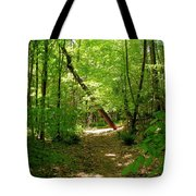 Wooded Path 17 Tote Bag