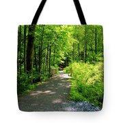 Wooded Path 20 Tote Bag