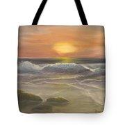 Rhapsody Of Waves Tote Bag