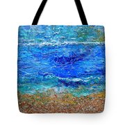 Rhapsody On The Sea Square Crop Tote Bag
