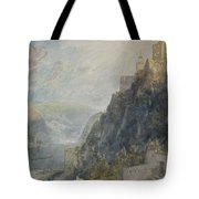 Rheinfels Looking To Katz And Gourhausen Tote Bag
