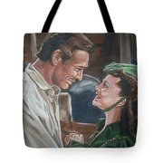 Rhett And Scarlett Tote Bag