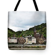 Rhine River View Tote Bag