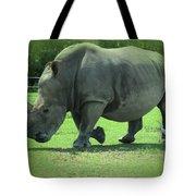 Rhino And Friend Tote Bag