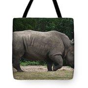 Rhino In The Wild Tote Bag