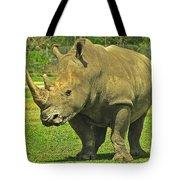 Rhino Look Tote Bag