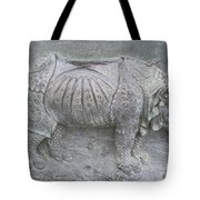 Rhino Relief - Church Door Detail Pisa Tote Bag