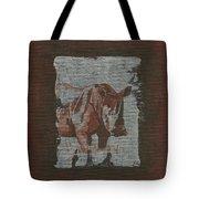 Rhinoceros Tote Bag