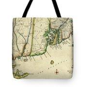 Rhode Island 1780 Tote Bag