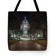 Rhode Island State House In Providence Rhode Island Tote Bag