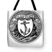 Rhode Island State Seal Tote Bag