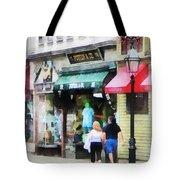 Rhode Island - Thames Street Newport Ri Tote Bag