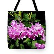 Rhododendron Closeup Tote Bag