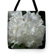 Rhododendron Purity Tote Bag