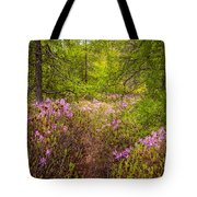 Rhodora Bloom In Acadia Tote Bag