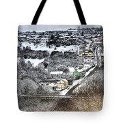 Rhymney Valley Winter 2 Tote Bag
