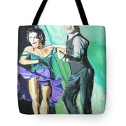 Rhythm Of The Night Tote Bag by Judy Kay