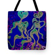 Rhythmic Attraction Tote Bag