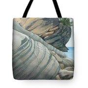 Rhythms In Rock Tote Bag