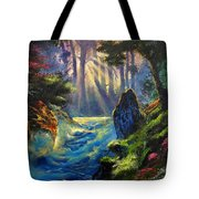 Rhythms Of A Vision Tote Bag
