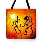 Rhythms Of Life Tote Bag