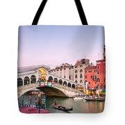 Rialto Bridge At Sunset - Venice Tote Bag