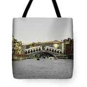 Rialto Bridge Venice Tote Bag