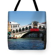 Rialto Bridge Venice Tote Bag