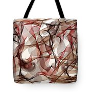 Ribbons Of Life Tote Bag