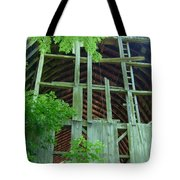 Ribs Of A Decaying Barn Tote Bag