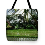 Rice Fields Bali Tote Bag