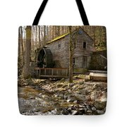 Rice Grist Mill And Threshing Barn  Tote Bag