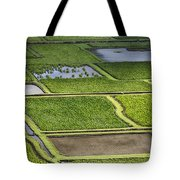 Rice Paddies Tote Bag