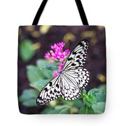 Rice Paper Butterfly Opulent Amenities 2 Tote Bag