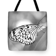 Rice Paper Butterfly Resting For A Second Tote Bag