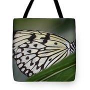 Rice Paper On Leaf Tote Bag