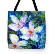 Ricepaper Blooms Tote Bag