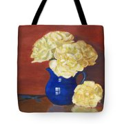 Rich Peonies Tote Bag