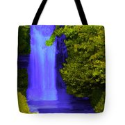 Rich Purple Wateful In The Spring Tote Bag