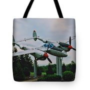 Richard Bong Memorial Tote Bag
