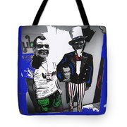 Richard Nixon Masks Uncle Sam Collage  Democratic National Convention Miami Beach Florida 1972-2008 Tote Bag