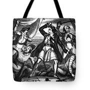 Richard Worley (c1686-1719) Tote Bag