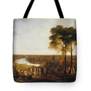 Richmond Hill On The Prince Regent's Birthday Tote Bag