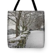 Richmond Hill Snow Tote Bag