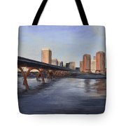 Richmond Virginia Skyline Tote Bag