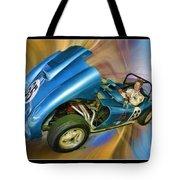 Rick In His 1958 Echidna Tote Bag