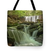 Ricketts Glen Waterfall Cascades Tote Bag
