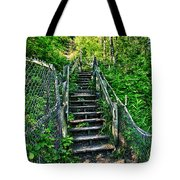 Rickety Stairs Tote Bag